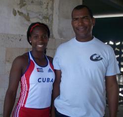 Silva y Navas. Foto:Deporcuba/Enero 2012