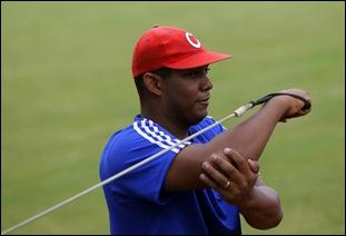Entrenamiento rumbo al Clásico Mundial de Béisbol.  Vladimir García, lanzador. Foto: Ismael Francisco/Cubadebate.