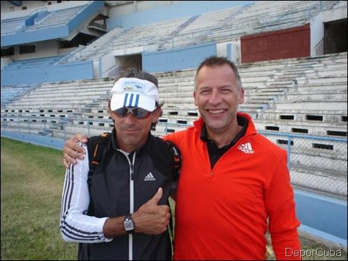 Gabino Arzola y Vince de Lange