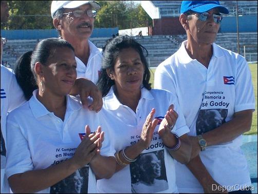 Familiares de José Godoy