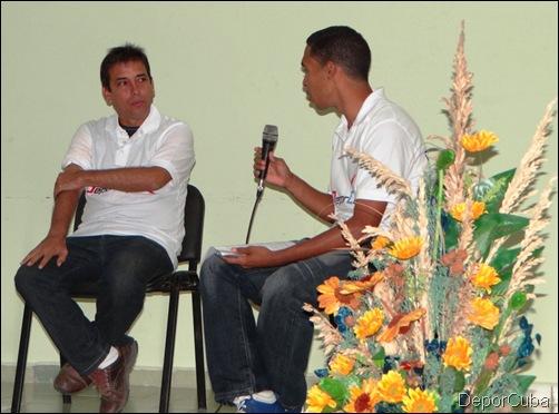 Renier González en la UCI 007