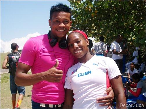 Ernesto Revé y Yarisley Silva