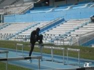 Teddy Tamgho se entrena en La Habana