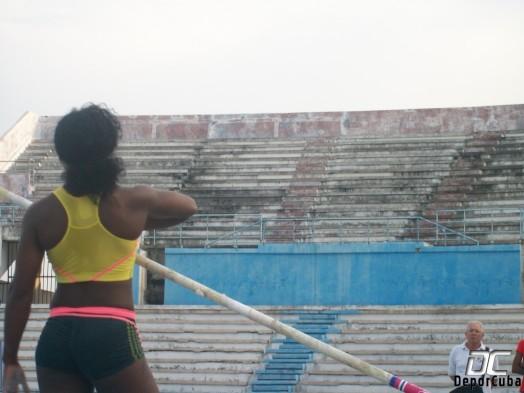 Yarisley Silva-Entrenamients Estadio Panamericano