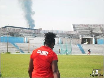 Yipsi Moreno_Entrenamientos_Estadio Panamericano_DeporCuba