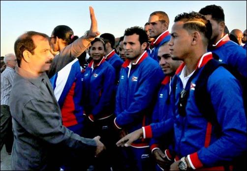 Abanderan delegacion cubana Juegos centroamericanos_Veracruz2014 (1)