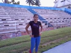 Geylis Montes Bacallao 4x100