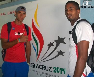 Sergio Mestre Mena y Junior Díaz Zayas