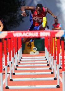 Carlos Jhoanis Portilla en semifinales de los 110