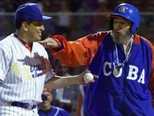 Fidel-y-Hugo-juego-de-béisbol1