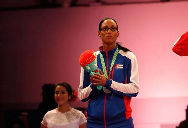 La deportista se perderá los Juegos Panamericanos. Argumentó que lo hizo por disgusto a la marcación de los jueces. FOTO: El Universal