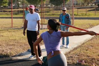 Actividad atlética en Las Tunas/ Fotos: Mónica Ramírez