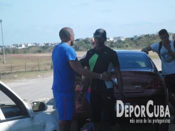 Roberto Janet y Leonel Suárez