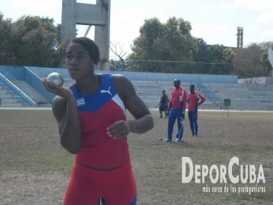 Atletas cubanos se preparan en La Habana (Febrero_2015. DeporCuba)