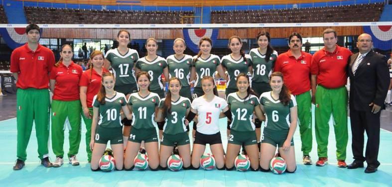 Equipo de México #CopaPanamericanaU18