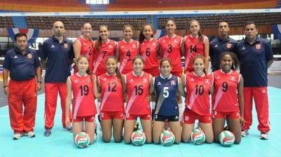 Equipo de Perú #CopaPanamericanaU18