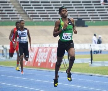 Christopher Taylor, la nueva promesa jamaicana en 400.