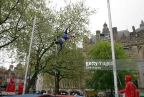 MANCHESTER, ENGLAND - MAY 9: Yarisley Silva of the Cuba competes in the Women's pole vault during the Great City Games on May 9, 2015 in Manchester, England. (Photo by Clint Hughes/Getty Images)