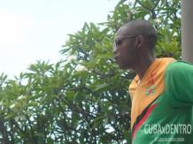 Brendan William, atleta de dominica compitio Godoy 2015