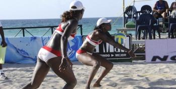 Lianma Flores-Leila Martínez ganan Copa Cuba de Voleibol de Playa
