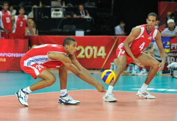 Uriarte y Jiménez serán los máximos responsables de la recepción cubana. (FIVB)