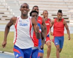 Atletismo Copa Cuba 400 MP Ridel Acea oro Foto: Ricardo López Hevia