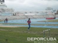 Jornada de entrenamientos en el Estadio Panamericano