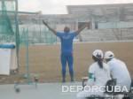 Roberto Janet, campeón del lanzamiento del martillo en en Copa Cuba de Atletismo 201
