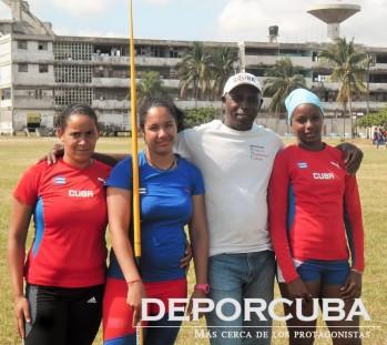 Duarte y sus pupilas_Deporcuba