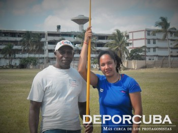 Hector L. Duarte y Yulenmis Aguilar_Deporcuba