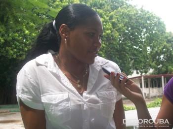 Denia Caballero_Entrevista Deporcuba post Mundial