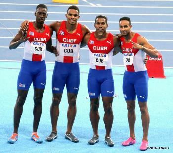 El relevo corto cubano busca incluirse entre los clasificados a la cita olímpica de Río de Janeiro