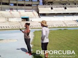 Gabino arzola en entrenamiento de eventos multiples Cuba_Rio_Deporcuba