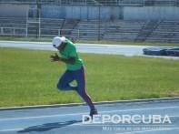 Equipo cubano de relevo 4x400 (Adrián Chacón)