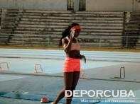 Ashlin Quiala salto con pértiga