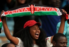 Tercer día de competencias en Nairobi 2017