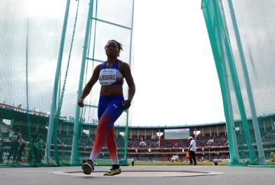 Amanda Almendariz logró la cuarta medalla de oro para Cuba en Nairobi 2017