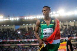 Momentos del cuarto día de competencias en Nairobi 2017