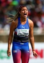 Melissa Hernández se ubicó entre las ocho mejores en Nairobi 2017