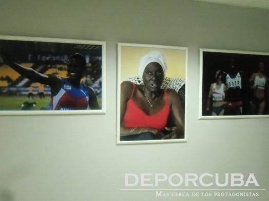 Remodelación del Estadio Panamericano (Gigantografías de estrelas del atletismo cubano)