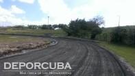 Montaje de la nueva pista del Estadio Panamericano (Pista de Calentamiento)