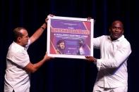 Gala de retiro oficial del destacado jabalinista Guillermo Martínez, celebrado en el Teatro Avellaneda el martes 13 de marzo de 2018 en Camagüey, Cuba.