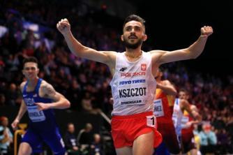 Momentos del tercer día de competencias en el Campeonato Mundial Indoor Birminghan 2018