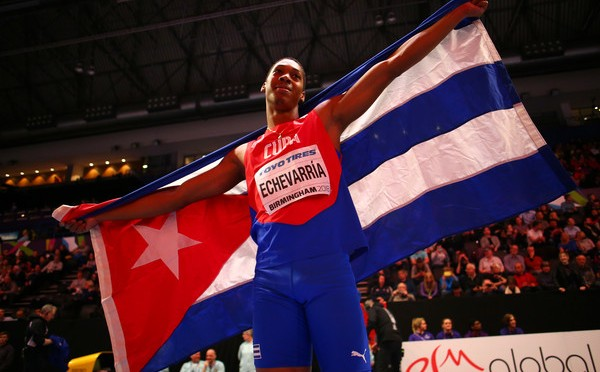 Echevarria leaps wind-assisted 8.92m in Havana