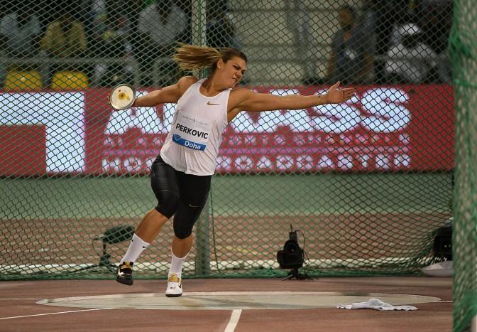 Perkovic, Samba y Pichardo lucen en Doha