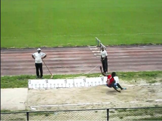 Jordan Díaz y el salto de 17.41 metros