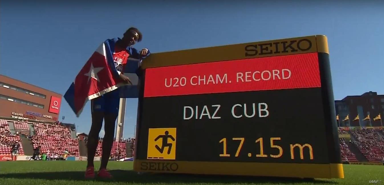 Jordan Díaz: El futuro del triple salto cubano en sus piernas