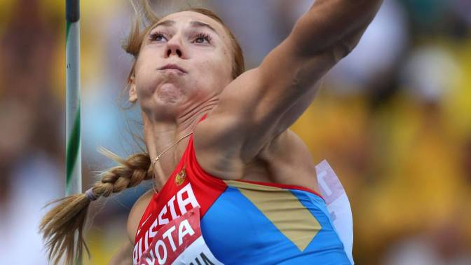 Abakúmova pierde el oro mundial en jabalina