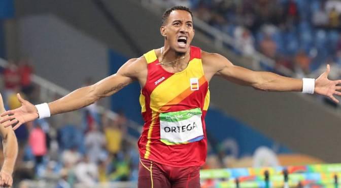 """Orlando Ortega: """"Me siento muy ilusionado con el futuro del atletismo español"""""""